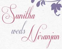 Sunitha Weds Niranjan