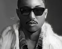 Digital Painting - Creating Pharrell Williams