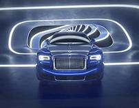 Rolls Royce CGI Tunnel