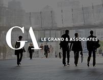 Le Grand & Associates - webdesign