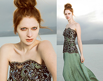 Salt Flats - Fashion Photoshoot