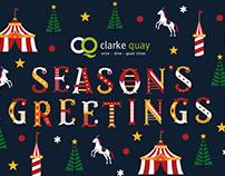 Clarke Quay: Season's Greetings