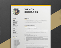 Resume Wendy ( 2 Pages )