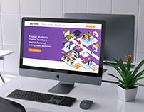 WinjiGO Product Website UI/UX