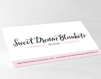 SWEET DREAM BLANKETS | BUSINESS CARD DESIGN