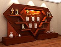 SinoTharwa Drilling Co _ Awards Display Stand
