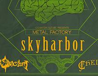 Metal Factory feat. Skyharbor [Poster]