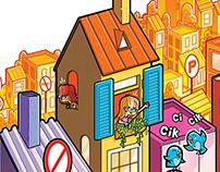 Comic Book / Sesler Renkler İşaretler