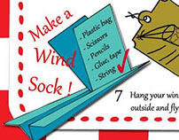 Diagram : how to make a Wind sock