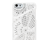 Lace pattern for for IPhone5(S) case