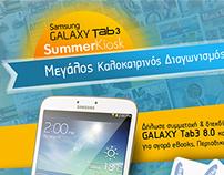 Samsung Galaxy Tab3 Summer Kiosk