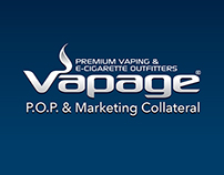 Vapage.com P.O.P. & Marketing Collateral