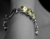 """Bridges III"" bracelets"