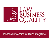 Law Business Quality - responsive website