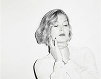 Rosamund Pike for ZEIT Magazin