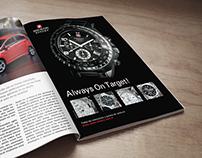 Publicidad para Relojes