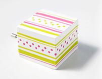 Painted music box