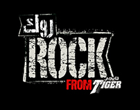 tiger rock  logo and packaging