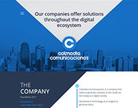 Colmedia Comunicaciones Web Page