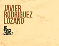Javier Rodriguez Lozano (Web Design)