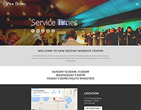New Destiny Worship Center Website