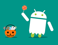 Happy Halloween, Android Lollipop edition