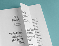 »If you can define it, it ain't Fluxus! «