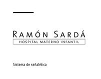 Proyecto de señalética - Maternidad Ramón Sardá