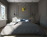 White & Grey Apartments