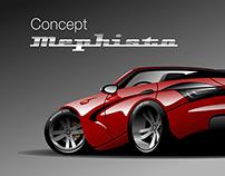 "Car concept ""Mephisto"""