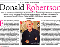 Donald Robertson (Interview and Editorial Design)