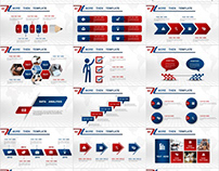 business Annual Chart Report PowerPoint templates