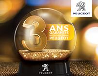 """Peugeot""""Ccampagne 3 ans garantie"""""""