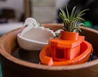 Air–Plant Boat