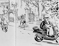 Sketchbook Italy, 2014