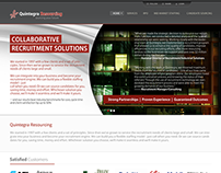 Recruitment Firm Website (Quintegra Resourcing)