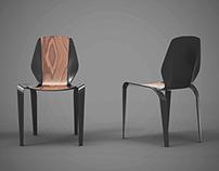 Carbon Fibre Chair Concept #1