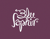 Blu Saphir Label Design 2014