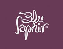 Blu Saphir Label Design 2014
