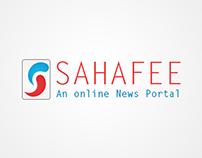 Sahafee - An Online News Portal e-promotion