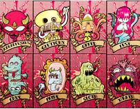 Deadly Sins Serie. 2010
