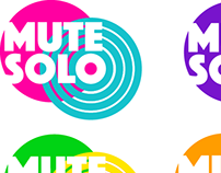 MUTE SOLO – logo design