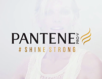 Pantene: Shine Strong. Content campaign.