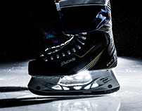 CCM Tacks Ice Skates Branding Design