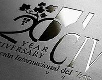 Logotipo 20 Aniversario CIV (USA)