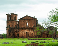 Ruins in South Brazil