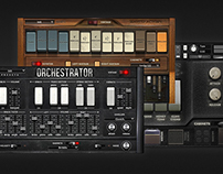 Wavesfactory Retro Keys Kontakt gui design