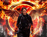 Hunger Games Mockingjay Concept Movie Poster
