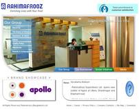Rahimafrooz Website