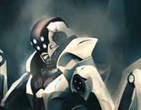 Mantis Soldier